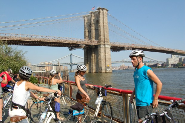 DUMBO: Get a Better View of Brooklyn with Bike And Roll