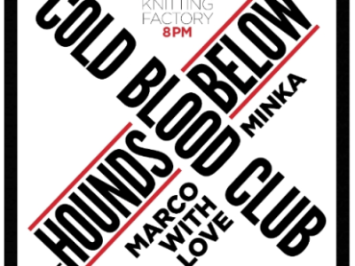 Williamsburg: Cold Blood Club Heating Up The Knitting Factory