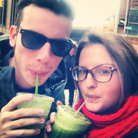 DUMBO: Our First Juice Cleanse!