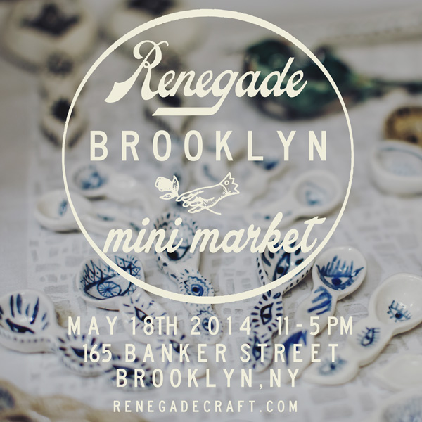 Greenpoint: Renegade Craft Fair Throws BK Mini Market