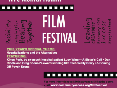 Brooklyn Heights: 10th Annual NYC Mental Health Film Festival