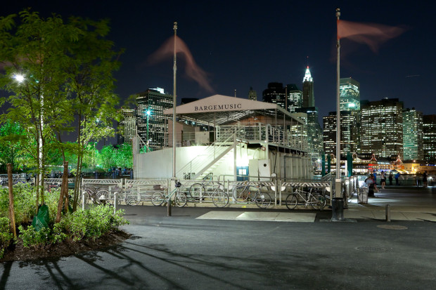 "DUMBO: Enjoy Live Music On Brooklyn's ""Floating Concert Hall"""