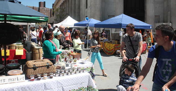 Downtown Brooklyn: Almost Time For Albee Square Farmers Market