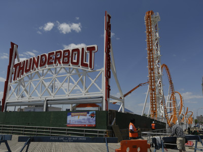 Coney Island: New Thunderbolt Roller Coaster Opens Friday!