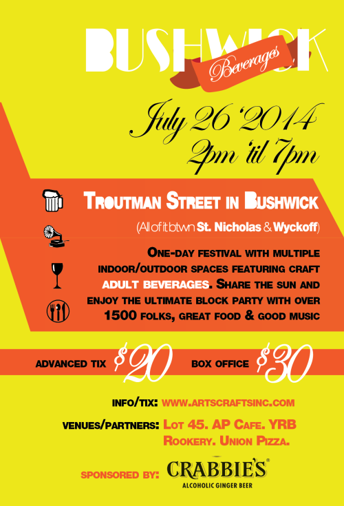Bushwich: Not Your Average Block Party