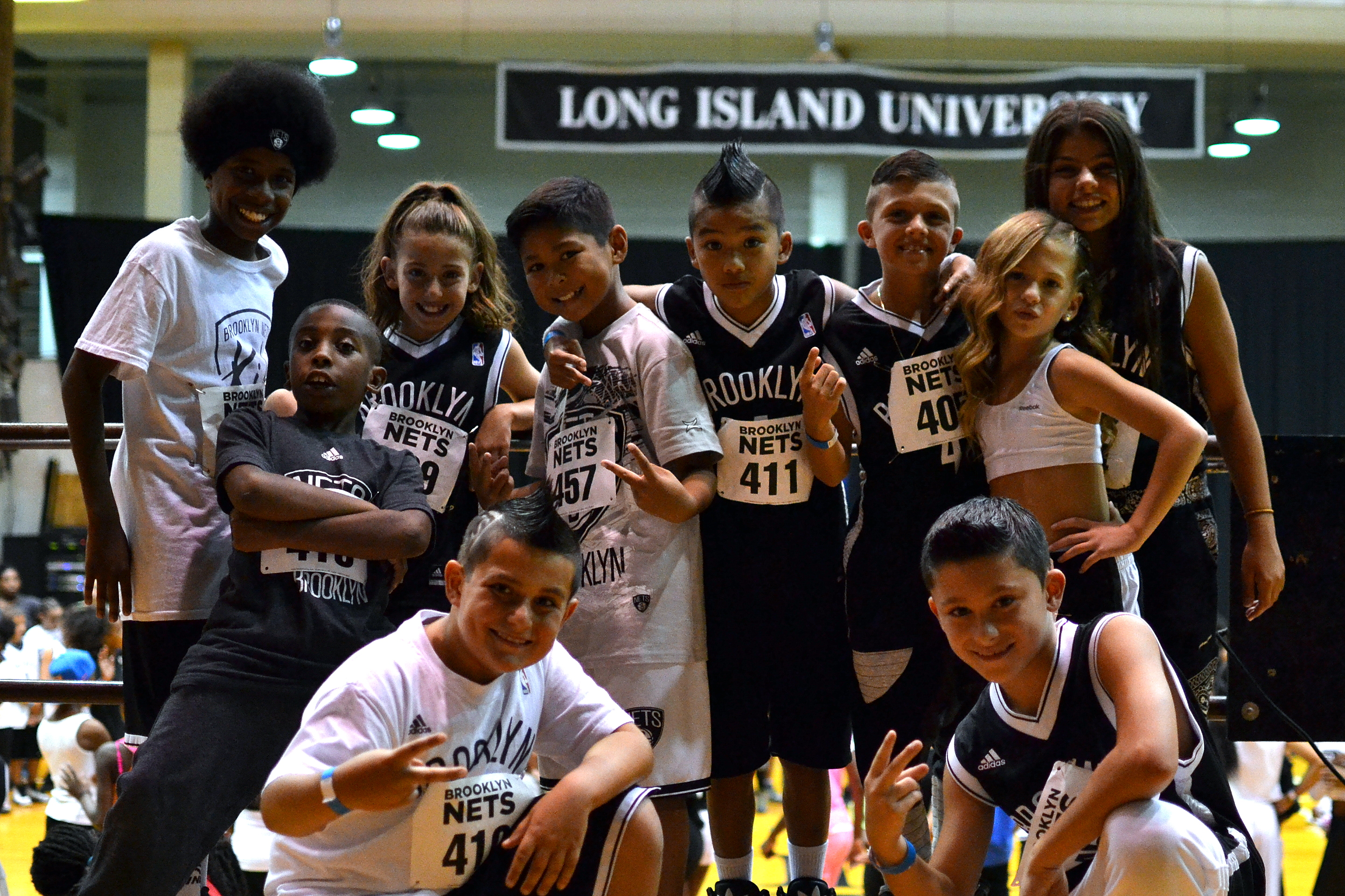 Brooklyn Nets Kids Dance Team