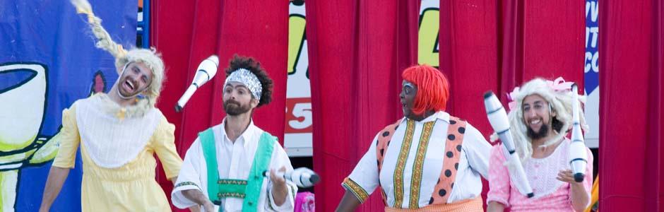 Circus Amok Parks Tour 2014