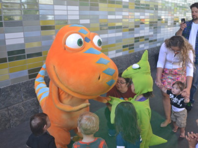 Prospect Park: The Dinosaur Train Pulls Into Brooklyn