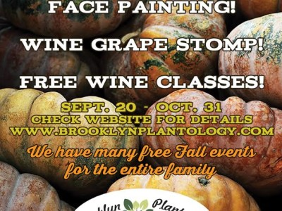 Canarsie: Stomp Grapes and Pick Pumpkins at Brooklyn Plantology!