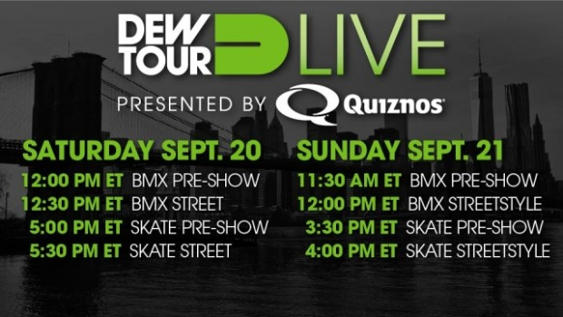Williamsburg: Dew Tour Comes to Brooklyn