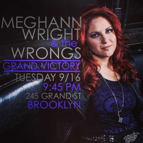 Williamsburg: TONIGHT See Meghann Wright at The Grand Victory