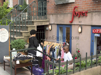 Shops Come Together for Atlantic Avenue Stoop Sale