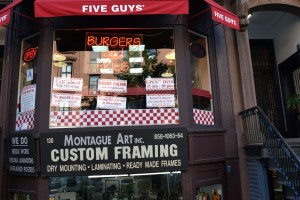 Five Guys (138 Montague Street)