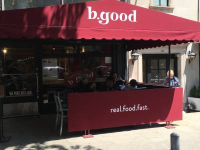 Enjoy Great Healthy Food at b.good