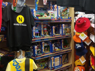 High End Merchandise at Little Things Toy Store