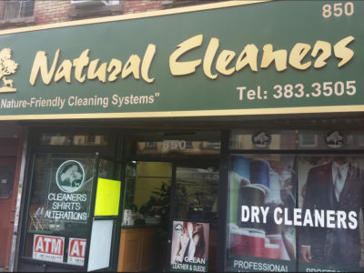 No Chemicals at Natural Cleaners