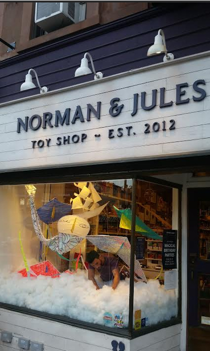 Norman and Jules Toy Store: Explore Your Creativity