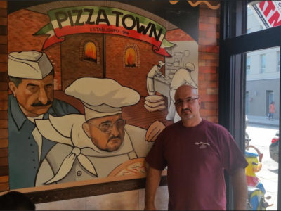 Pizzatown: Largest Dining Area in Park Slope