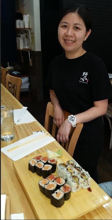 Great Sushi Variety at Yashin