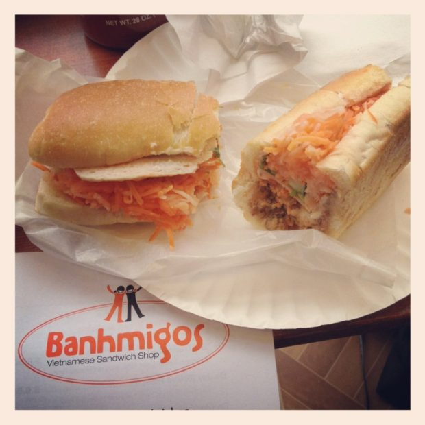 Banh Mis Designed to Please at Banhmigos