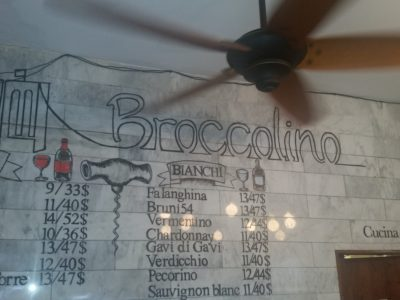 Classic Flavor With Creative Flare on the Menu at Broccolino