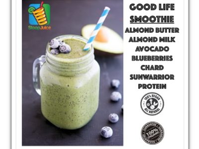 Live the Good Life with Stoop Juice's 100% Organic Smoothies