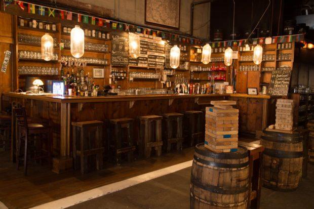 Kings Beer Hall Jenga