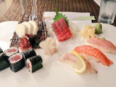 Delicious Sushi Platter at Nanatori