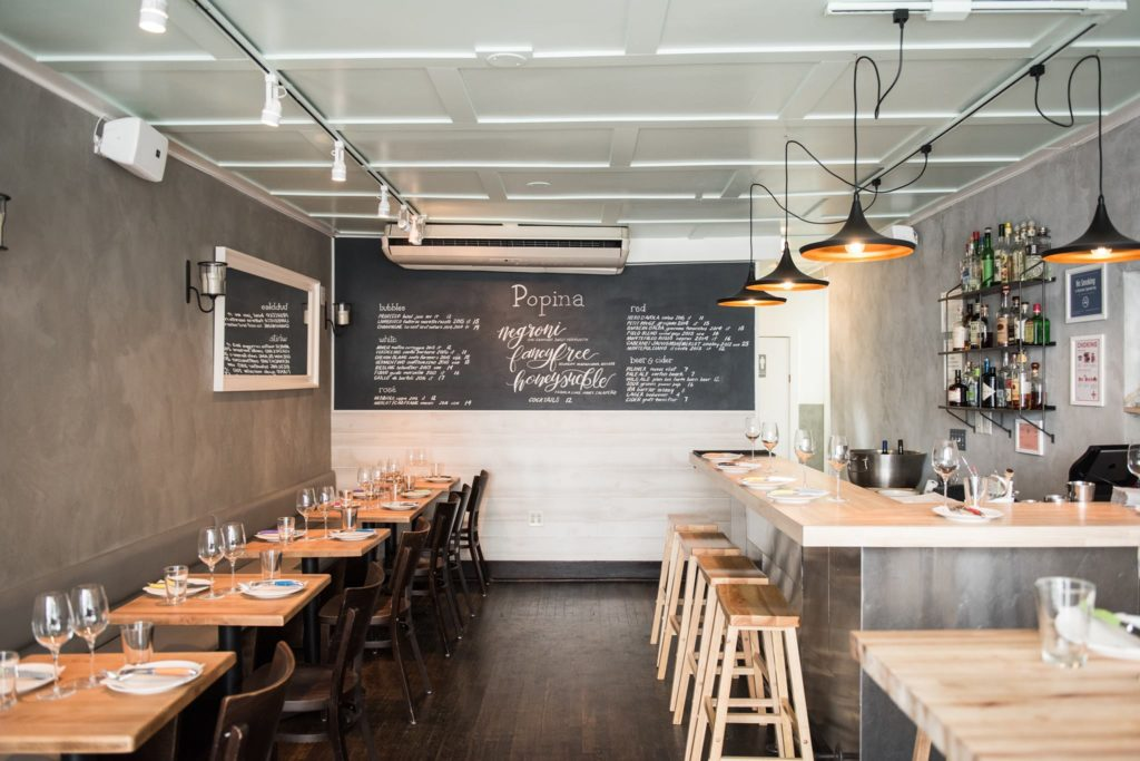 A look inside Popina at 327 Columbia St. Photo courtesy of Popina