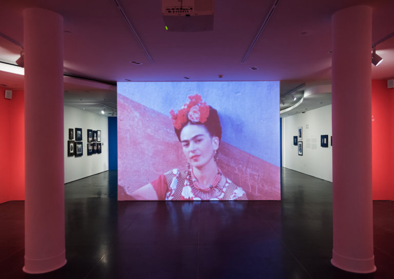 Installation view, Frida Kahlo: Appearances Can Be Deceiving, Brooklyn Museum,