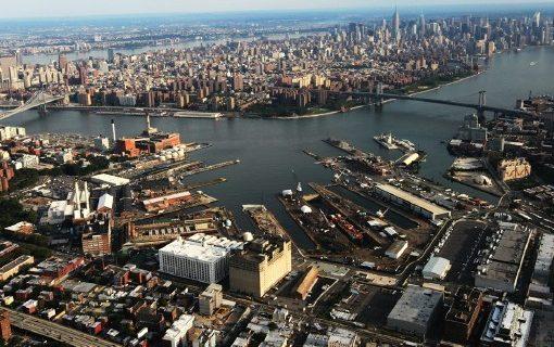 Brooklyn Navy Yard serves as a Brooklyn arts hub