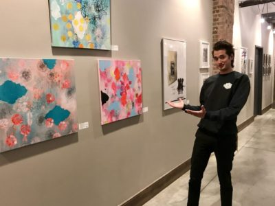 Small art gallery nestled within Empire Stores is big springboard for Brooklyn artists