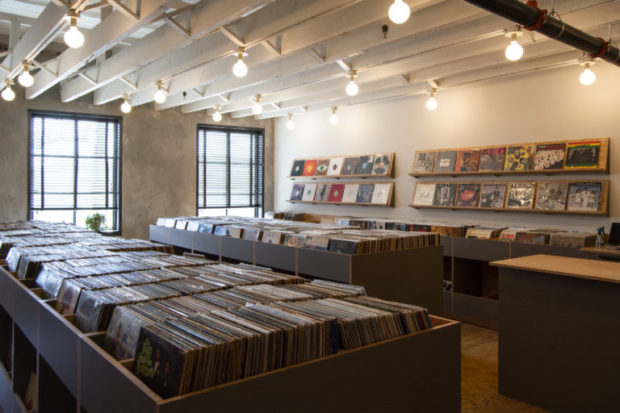 Vinyl and Chinese food: a perfect match in Bushwick